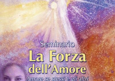 """Seminario """"La Forza dell'Amore"""""""